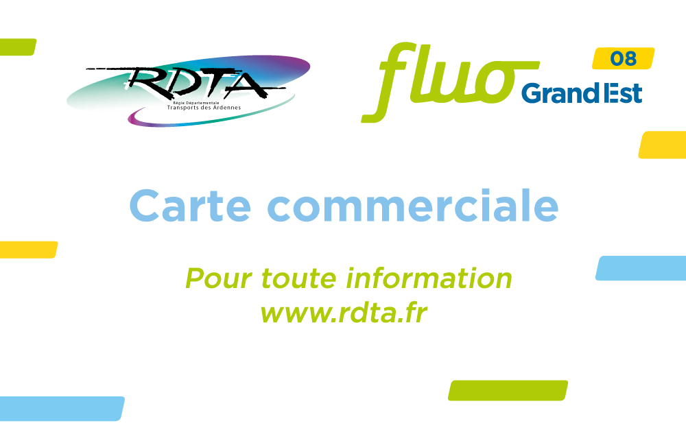 Carte commerciale Fluo